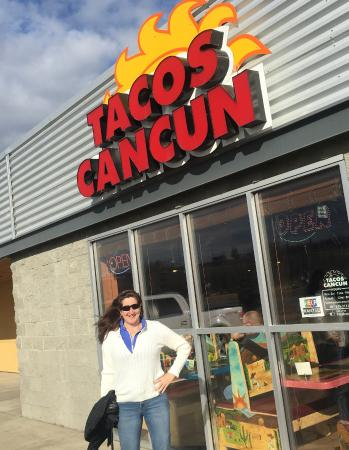 Taco Cancun Mexican Grill: Tacos Cancun in Wasilla, Alaska - Mild on the outside
