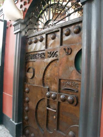 Second Home Peru: Front gate