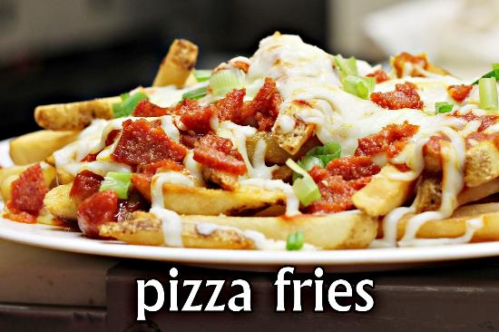 MacGregor Draft House: Pizza Fries