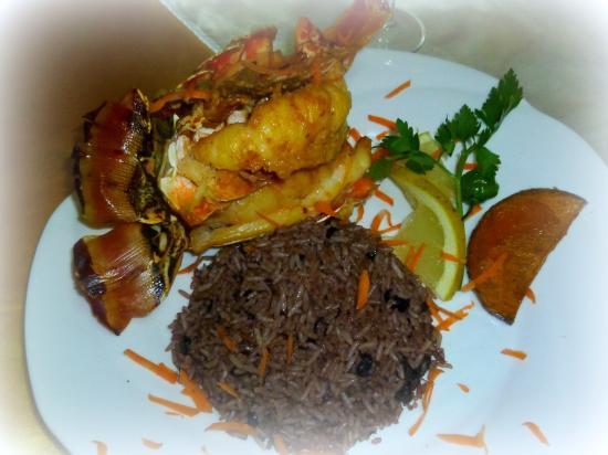 La Casa del Chef (Rolando y Marisol): la langouste de Rolando  !!!!!!! le MUST