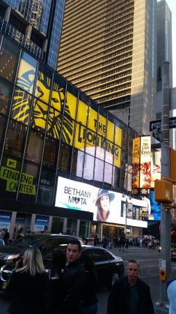 times sqaure picture of the lion king new york city tripadvisor rh tripadvisor com