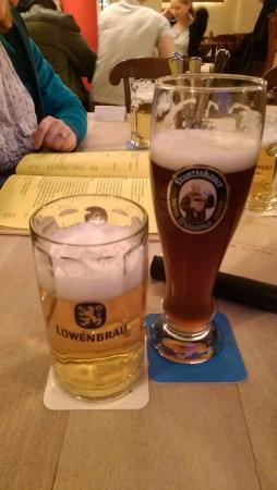 Max Emanuel Brauerei : The local brews, Lowenbrau and Franziskaner
