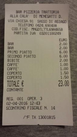Bar Pizzeria Trattoria Alla Cala Di Menegatti Donatella