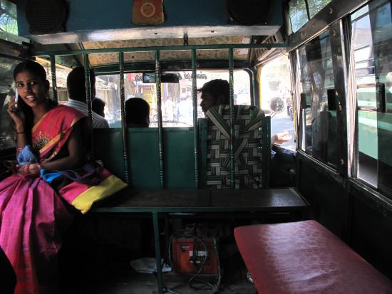 RIDE Guesthouse : Share Auto (Tuktuk) only 10 Rs. to Town. running the whole time
