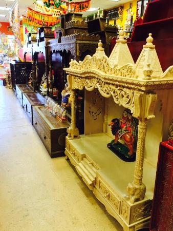 Edison, NJ: Huge variety of Wooden hand carved temples for your home