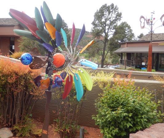 Hillside Sedona : At Hillside Center in Sedona - beautiful art