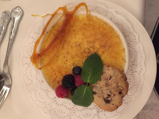 Park House Hotel: Creme Brûlée dessert