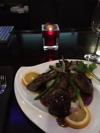 Newington, Nueva Hampshire: Rack of Lamb: True Fusion