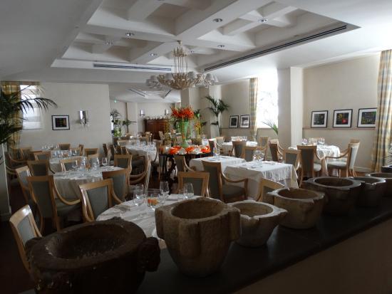 Hotel Clitunno: la sala da pranzo