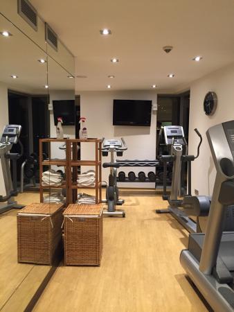 Gym Bild Von Eurostars Hotels Gran Central Munchen Tripadvisor