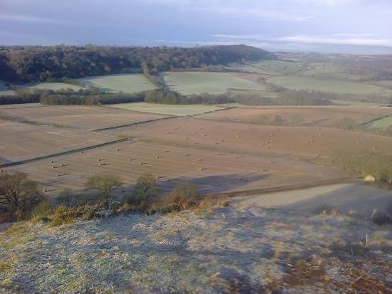 Lastingham, UK: View from the top of the Nab towards Bransdale/Farndale