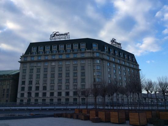 Fairmont Grand Hotel Kyiv: Grand hotel, indeed!