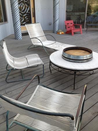 Christopher Joyce Vineyard and Inn: Relax on the Deck