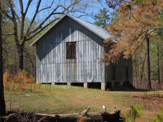Carvers Creek State Park : old storage building
