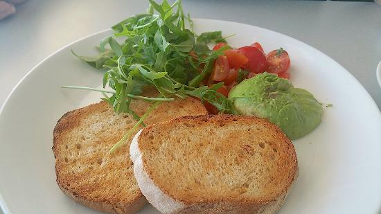 Mosman Park, Australien: avocado with toast
