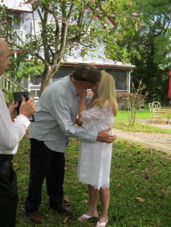 Lake Helen, Floryda: Wedding cerimony on the grounds.