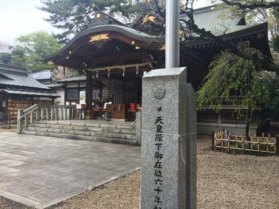 布多天神社, 本殿横より