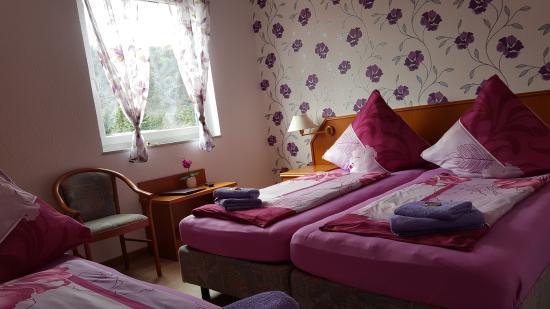 Hotel im Rheintal: Dreibettzimmer