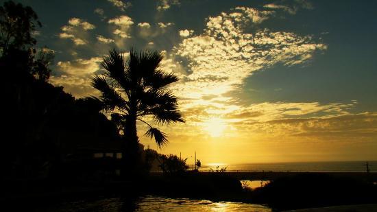 La Joya del Mar Hotel y Restaurant: Sunset