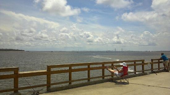 fishing pier st simons island picture of fishing pier saint rh tripadvisor com