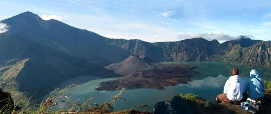 Lombok, Indonésia: Mount Rinjani View from Crater