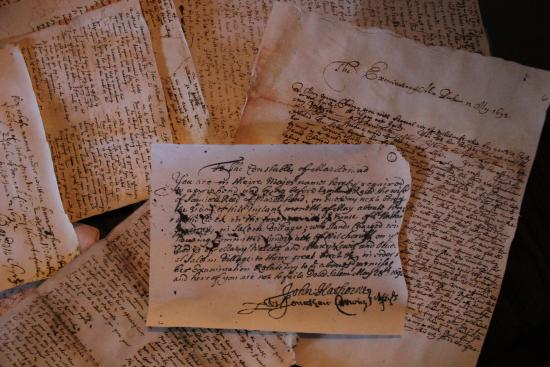 copies of the original documents from the salem witch trials in 1692