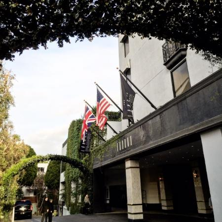 The luxurious London Hotel in West Hollywood is steps away from