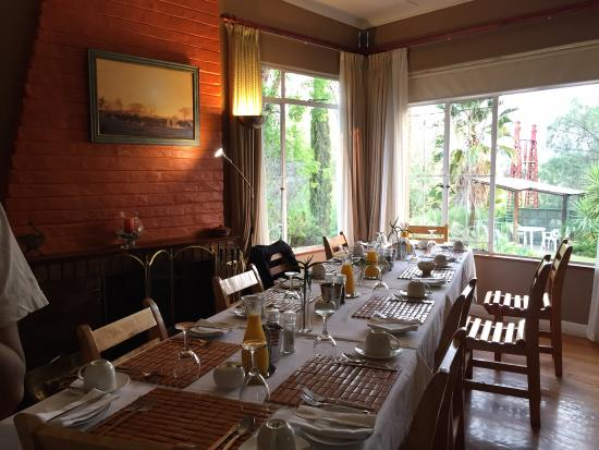 Gumtree Guest House: Dining area for breakfast