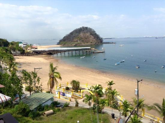 Vereda Tropical Hotel: Vue sur l'île Morro et les plages