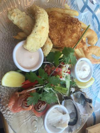 Sealife Centre Restaurant: Platter for 1