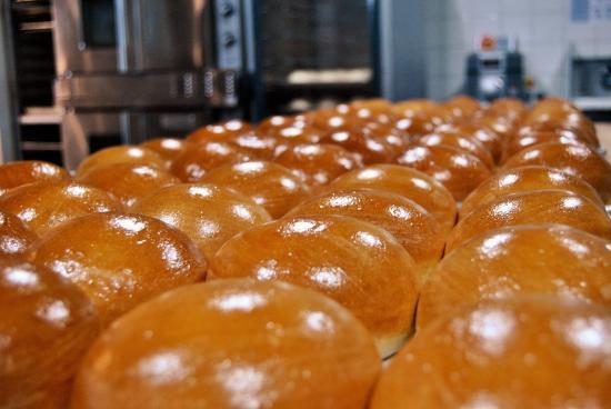 Pemberton, Kanada: Our housemade Buttermilk Buns!