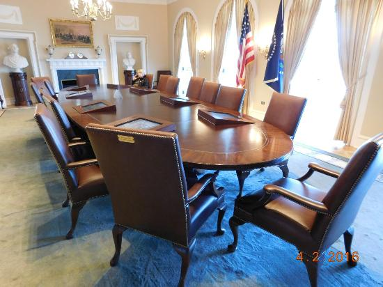 William J. Clinton Presidential Library: Cabinet Room