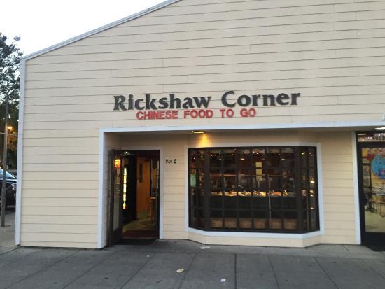 Rickshaw Corner Restaurant Front Of