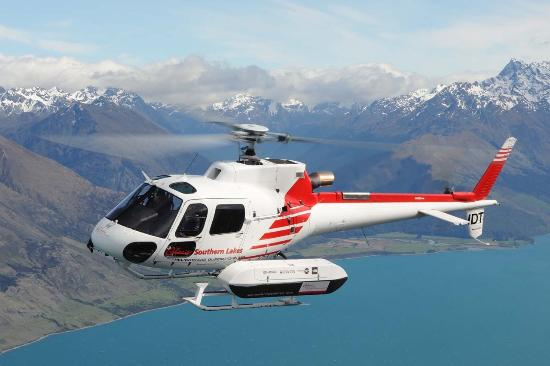 Glacier Southern Lakes Helicopters: Airbus B3 Squirrel