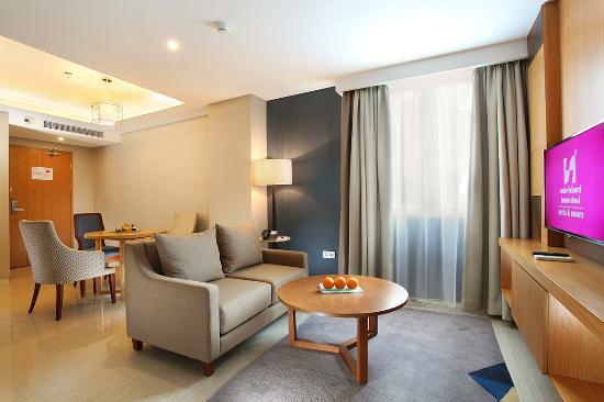 two bed room suite living room picture of swiss belhotel pondok rh tripadvisor com