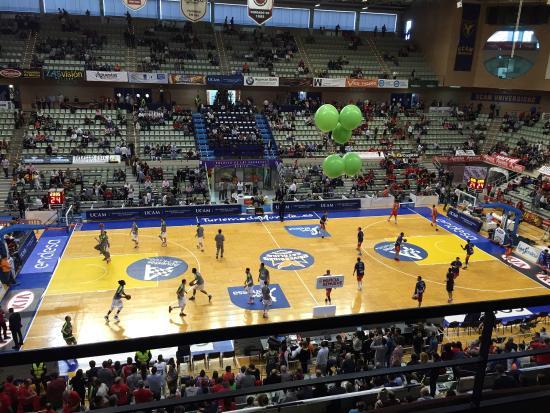 Ucam murcia real madrid 15 16 palacio de deportes de murcia murcia resmi tripadvisor - Pabellon de deportes madrid ...