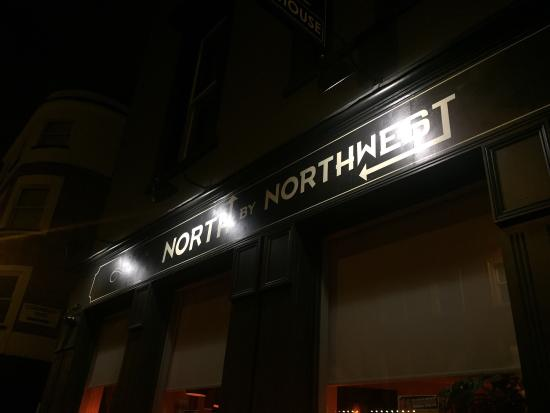 North By North West Pub: Hitchcock theme