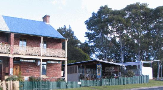 Moruya, Australia: Museum in 1875 Terrace house