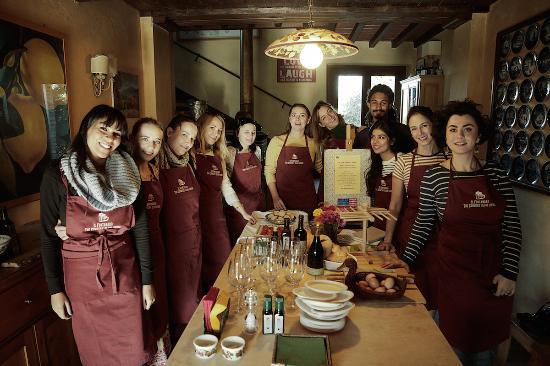 Paciano, İtalya: the cooking farming experience