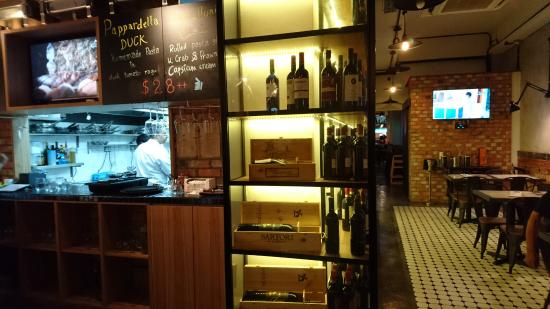 Ciao@: Inside With Open Kitchen Concept
