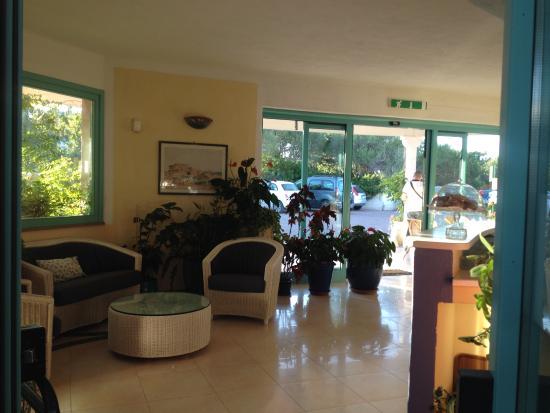 Park Hotel Asinara : Réception