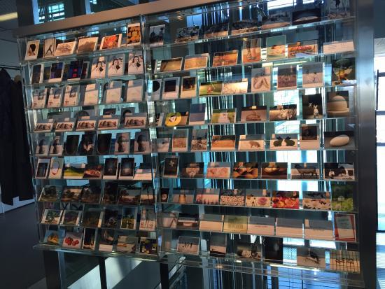 Kunstmuseum Luzern: postcard corner