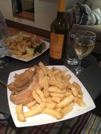 Rockfish - Takeaway: Friday offer (Wine is local but cant be bought from Takeaway)