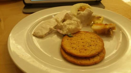 New Plymouth, Nowa Zelandia: cheese and crackers