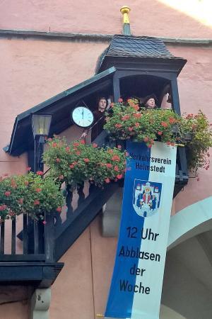 Hausmannsturm: town criers