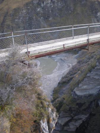 Queenstown, Nova Zelândia: skippers canyon bridge