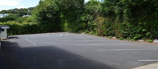 Burleigh House: Car park