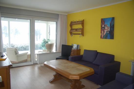 Wunstorf, Tyskland: Suite Wohnzimmer