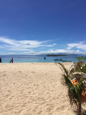 Beachcomber Island, Φίτζι: Bar에서 바라본 바다