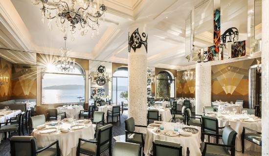 Hotel Belles Rives : Restaurant La Passagère - Dining Room
